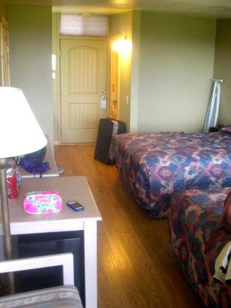 Far View Lodge : No closet in room
