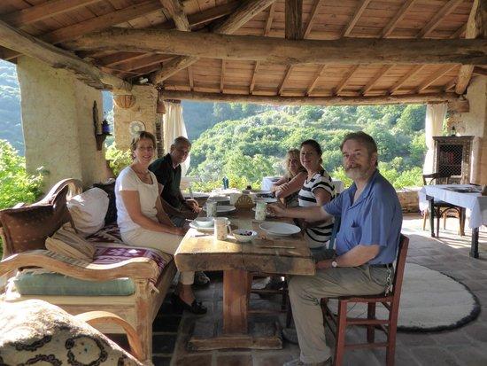 Nisanyan Evleri Hotel: Breakfast