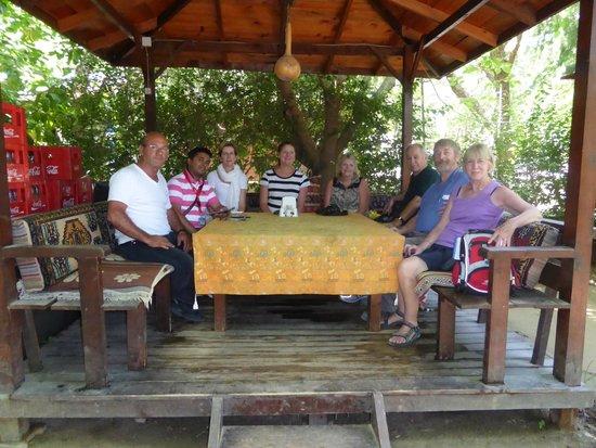 Nisanyan Evleri Hotel: Outdoor dining