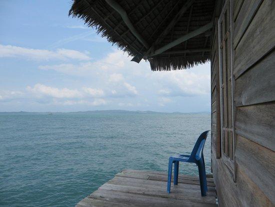 Blue Mountain Kelong : Fishing area
