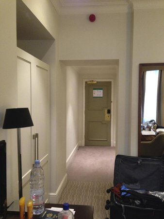 St. James' Court, A Taj Hotel: Looking towards the room door