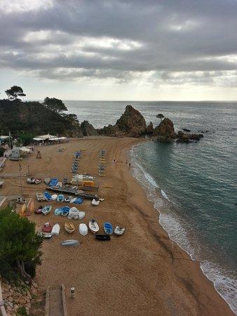 Premier Gran Hotel Reymar & Spa : Private beach