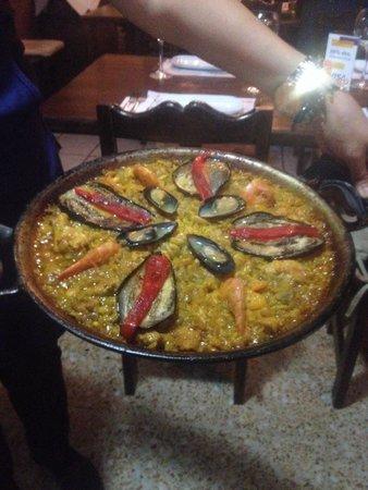 Sabina : Paella valenciana