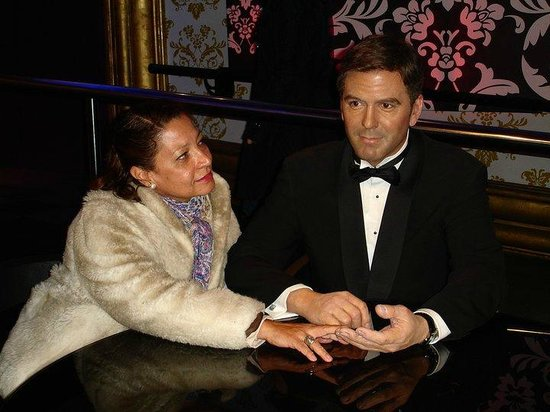 Madame Tussauds London: Eu e George Clooney
