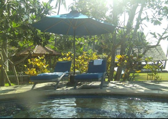 Agung Bali Nirwana Private Luxury Villas: From pool facing restuarant