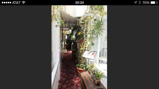 San Remo Hotel: Corridoio