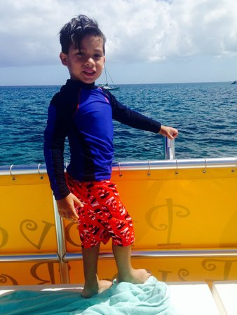 Caicos Dream Tours: My son had a blast!