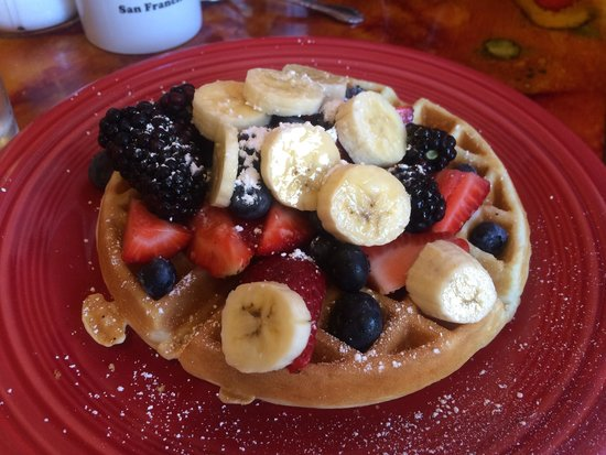 Pat's Cafe: Waffle