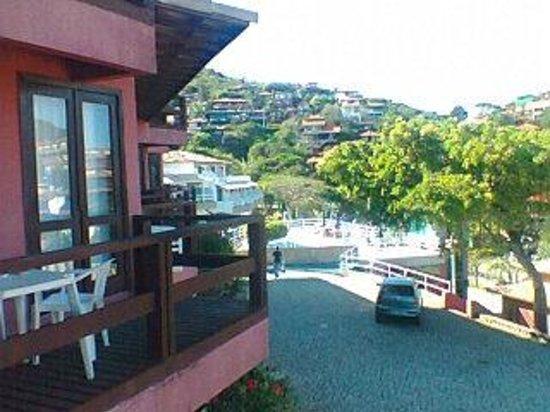 Coronado Inn: view from balcony