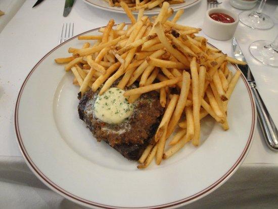 Bouchon Bakery: Steak frites