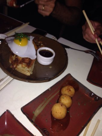 Sugarcane: Duck and croquettes