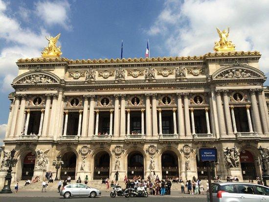 Opéra Garnier : グラニエ宮表
