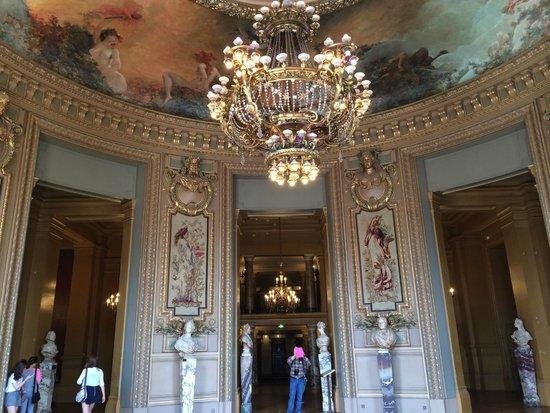 Opéra Garnier : グラシエの間