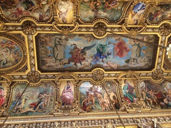 Opéra Garnier : グラン・フォアイエの天井