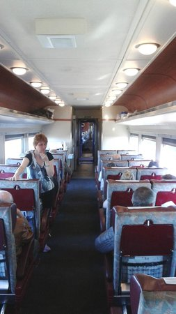 The Rocky Mountaineer Train: Inside the carriage on Rocky Mountaineer