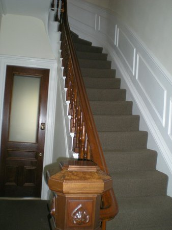 The Gilded Lily: you may leave your luggage at side of staircase before check in & after check out