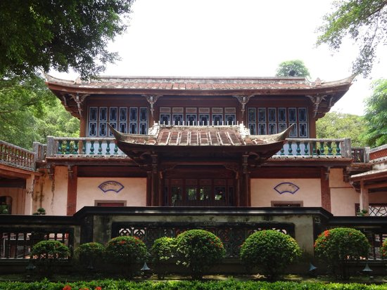 The Lin Family Mansion and Garden: building