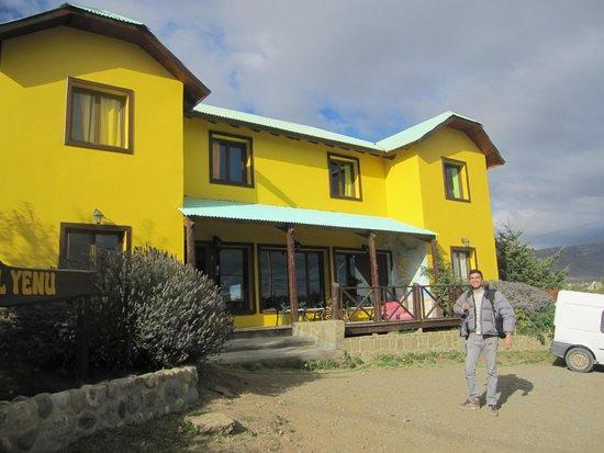 Posada Patagonica Nakel Yen: Fachada del hotel