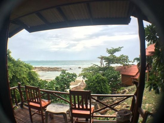 Niramon Sunview Resort: ด้านหน้าห้องพัก