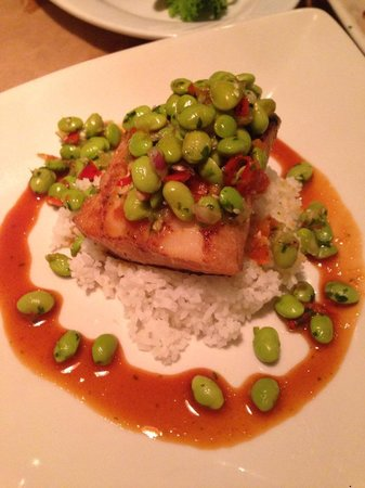 Stillwater Fish House : Miso Butterfish w/ edmame
