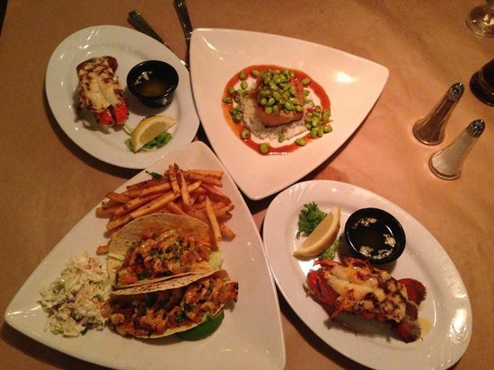 Stillwater Fish House: Entrees