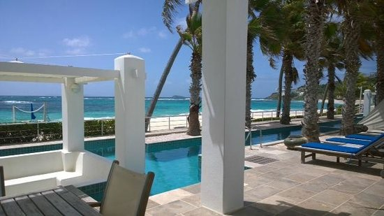 Coral Beach Club Villas & Marina : Coral Beach club, Beach Front Villa, private pool