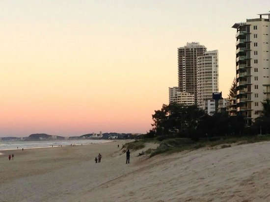 Watermark Hotel & Spa Gold Coast: beach