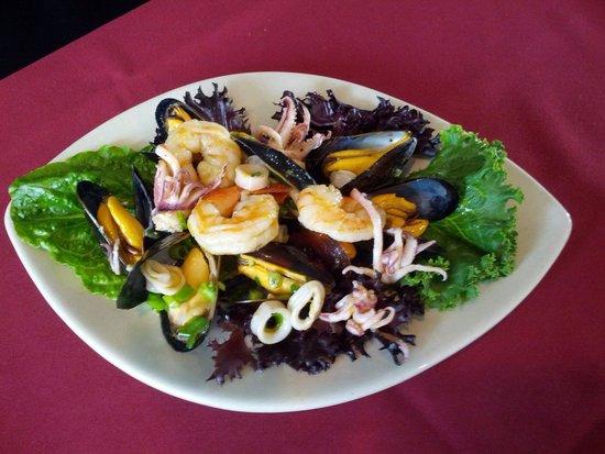 The Phoenix: Seafood Salad