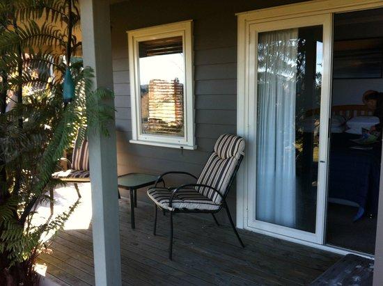 124 on Brunswick: Te Moana deck area