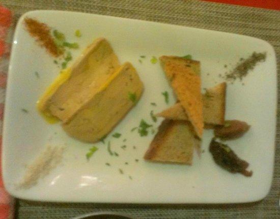 Cocotte Cita: Foie gras