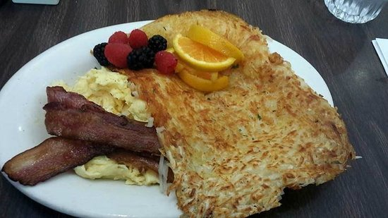 Hollywood Cafe: Bacon, eggs and hashbrowns
