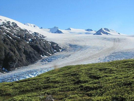 Harding Ice Field Trail: Beautiful panorama