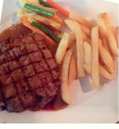 Tomodachi Cafe: Tenderloin steak