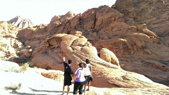 Red Rock Casino Resort & Spa: Awesome hike at Red Rock canyon