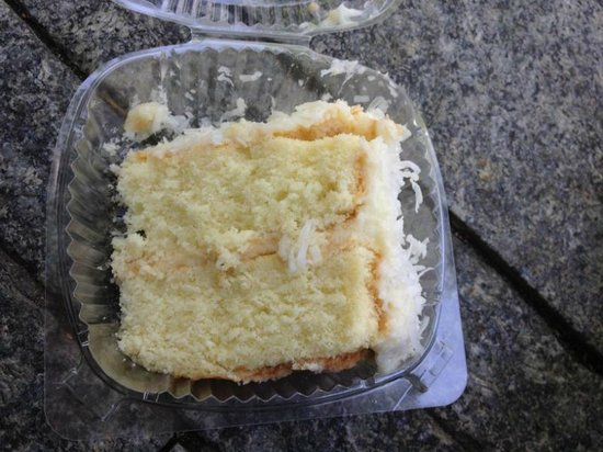 Coconut cake at Amy's Bread