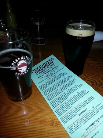 Deschutes Brewery: Some decent choices on tap