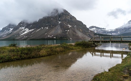 Num-Ti-Jah Lodge: Bow Lake