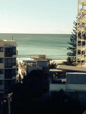San Mateo Apartments Gold Coast : View from balcony from 7th floor