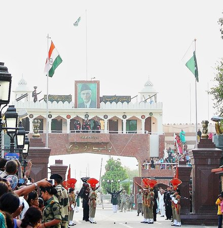 Wagah Border: Gates of Both the Countries