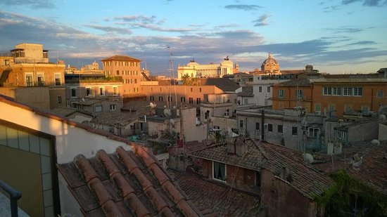 Albergo del Senato : View from rooftop bar