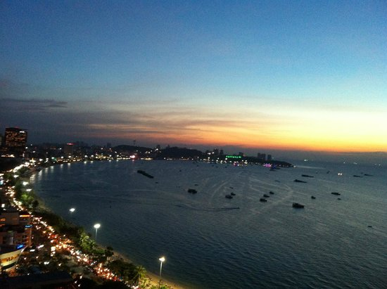 Holiday Inn Pattaya: วิวสวยๆ จากห้องพัก