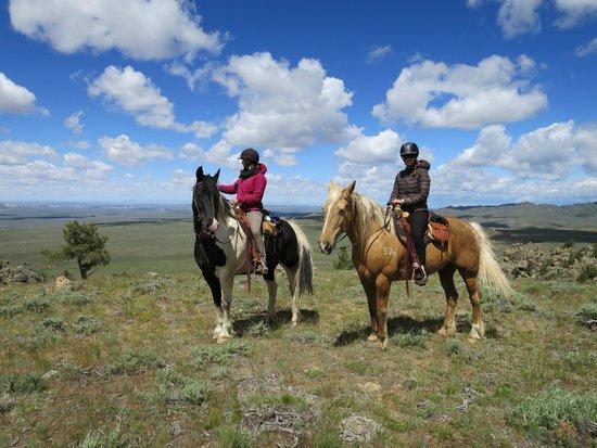 Blue Sky Sage Horseback Riding Adventures: On the ride