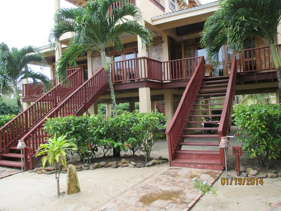 Belizean Dreams: the property, 2 bedroom executive suite