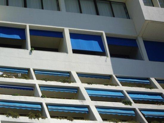 Grand Hotel Bernardin: Балконы последнего этажа
