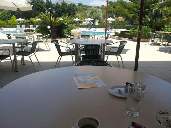 Limanaki Hotel: View from the table