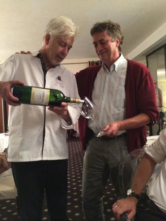 Hotel Le Vinois restaurant: le chef du vinois et jl baldes pour un merveilleux probus