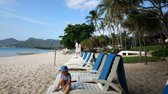 Centara Grand Beach Resort Samui: Beach