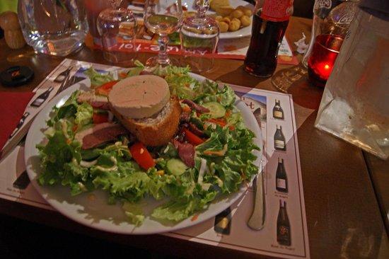 Une entr e copieuse avec le foie gras photo de chez for Entree avec du foie gras froid