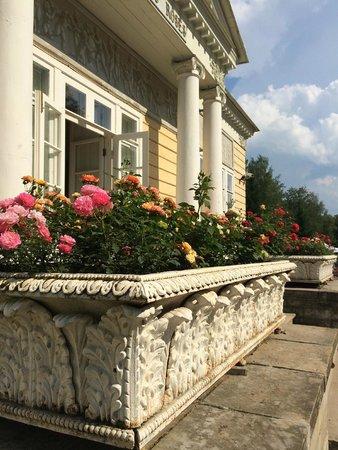 Pawlowsk-Palast und Parkanlage: Розовый павильон