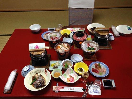Hotel Kowakuen : 部屋食